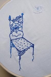 Blue's Chair Detail